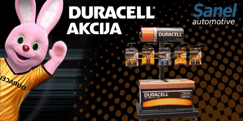 Za akcije na pocetnoj-Duracell